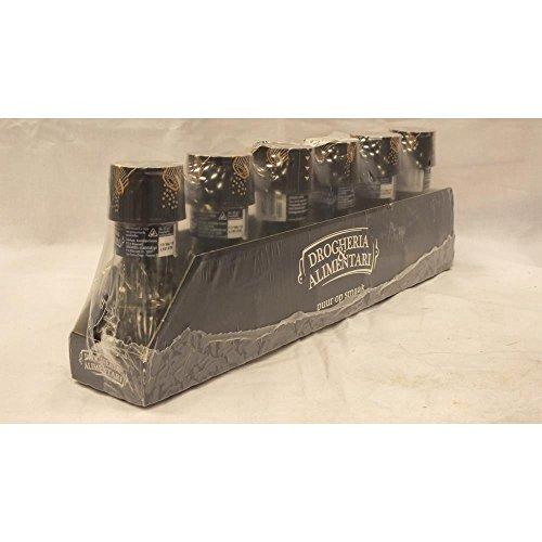 D&A Gewürzmischung Pepermolen Zwarte Peper 6 x 45g (Pfeffermühle mit schwarzem Pfeffer)