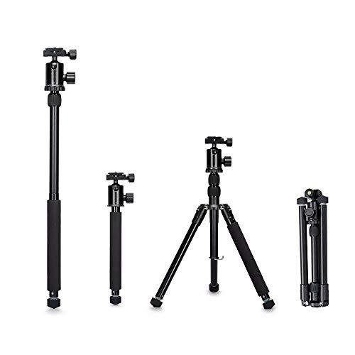 Liuxiaomiao camerastatief 62-inch statief afneembare monopod met kogelkop voor DSLR-camera-telefoon (150cm) voor smartphone en DSLR