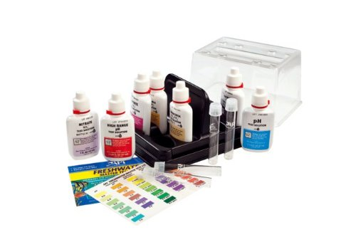API Freshwater Master Test Kit, includes laminated color card, 4 test tubes and holding tray