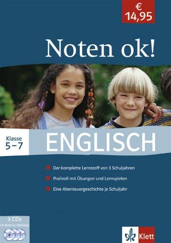 Preisvergleich Produktbild Noten ok! - Englisch 5.-7. Klasse