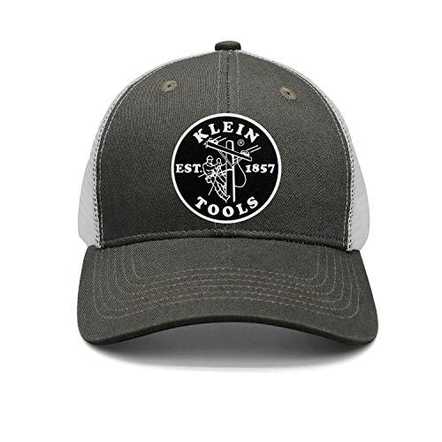 Men's Women's Dad Cap Trucker-Klein-Tools-Hat Outdoor Breathable Baseball Snapback Mesh