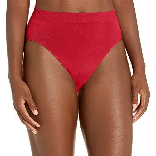 Wacoal Women's B-Smooth High-Cut Panty, Rio, X-Large