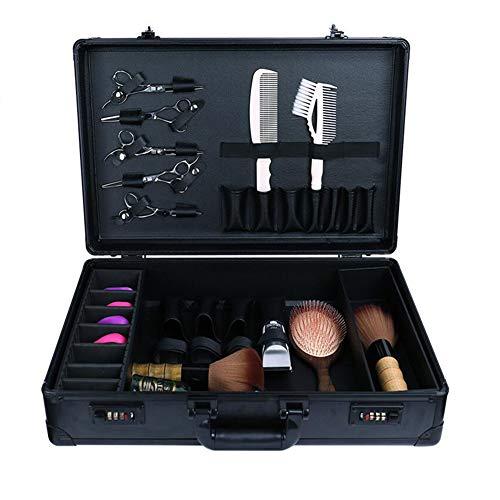 Barbero de contraseña Maleta Caja de almacenamiento Llevar Pro Kit de herramientas de peluquería Hair Salon almacenamiento bolsa de viaje de la caja del estilista de peluquería