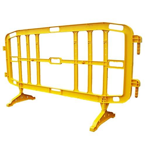 Transenna in plastica (PP) stradale, Mis. 200 x 102 cm, colore giallo
