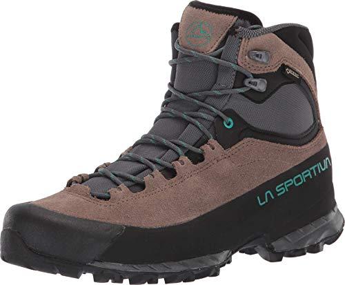 La Sportiva Eclipse GTX Women's Hiking Shoe, Taupe/Emerald, 40