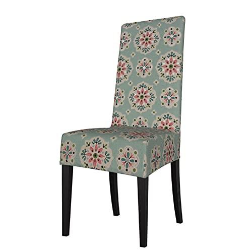 Escritorio Vintage papel pintado desmontable silla cubierta asiento cubierta es adecuado para hotel ceremonia banquete