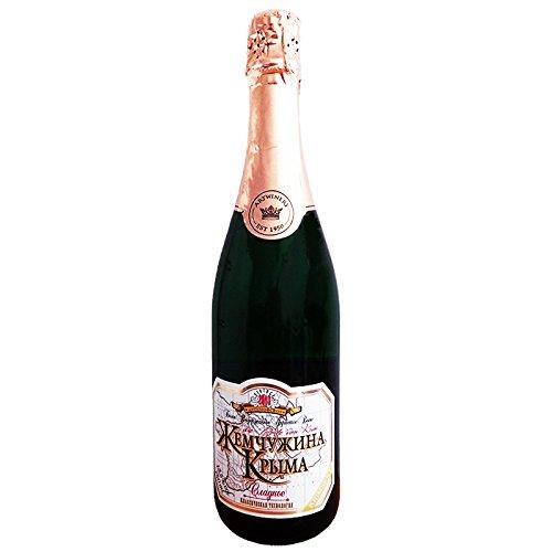 weißer Krimsekt mild 0,75L 12,5% vol Sekt Schaumwein Chardonnay Riesling Aligote