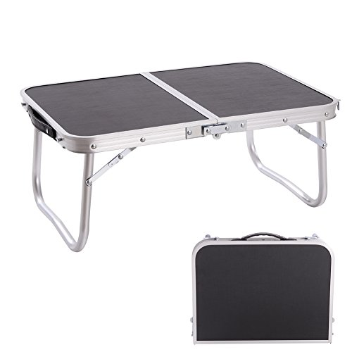 CampLand Aluminum Height Adjustable Folding Table Small