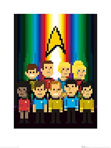 Star Trek PPR51308 fotolijst, 60 x 80 cm (Equipage Trexels), meerkleurig