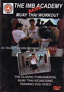 The IMB Academy - Basic Muay Thai Workout DVD Richard Bustillo [Importado de Inglaterra]