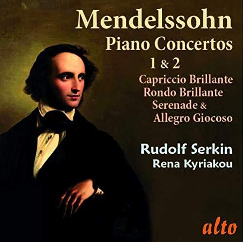 Mendelssohn Bartholdy: Klavierkonzerte 1 & 2 / Capriccio Brillante /+