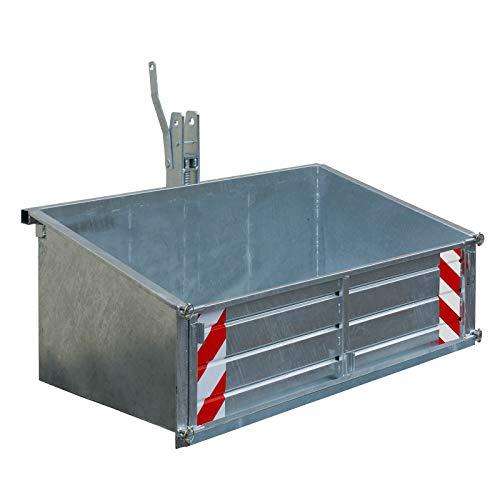 DEMA Heckcontainer LSL 15 verzinkt