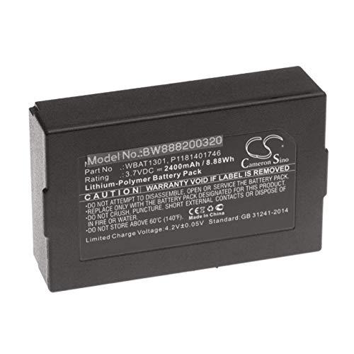 vhbw Akku passend für Iridium 9560, Go Handy Smartphone Handy (2400mAh, 3.7V, Li-Polymer)