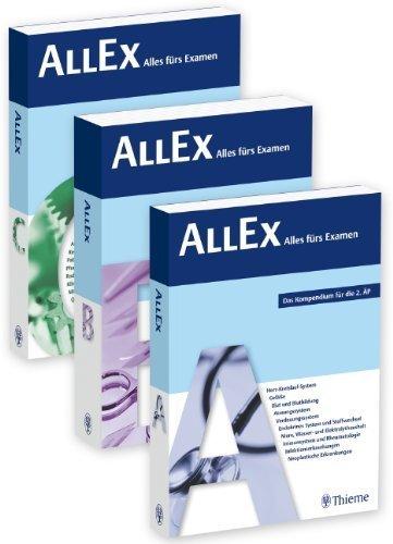 AllEx - Alles fürs Examen: Das Kompendium für die 2. ÄP von unbekannt (2012) Broschiert