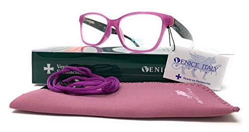 Gafas de lectura presbicia Mujer Diseño en Colores: Verde, Rojo, Rosa, Negro. VENICE YULIA - Dioptrías: 1 a 3,5 (purple, 1.50)