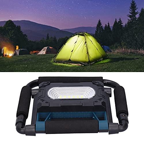 Luz de inspección, luces de trabajo, carga USB magnética portátil a prueba de lluvia con soporte para reparación de automóviles para acampar en el hogar