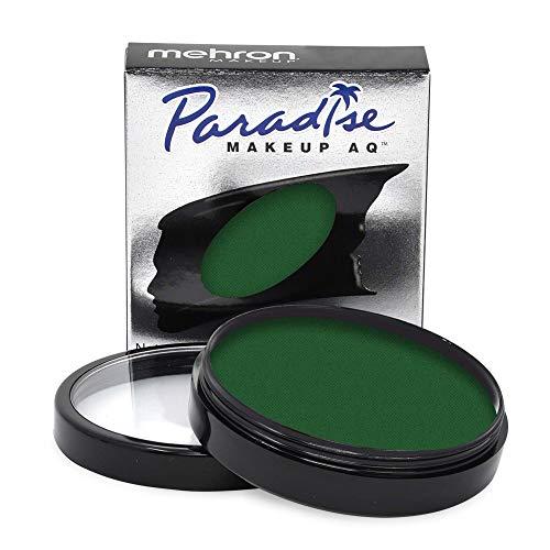 Mehron Makeup Paradise Makeup AQ Face & Body Paint (1.4 oz) (Dark Green)