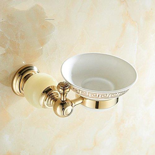 XBR salle de bain du cuivre marbre boîte à savon, savon rack, net boîte à savon, creative toilettes, toilettes rack