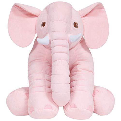 Almofada Elefante Gigante, Buba, 7562, Rosa