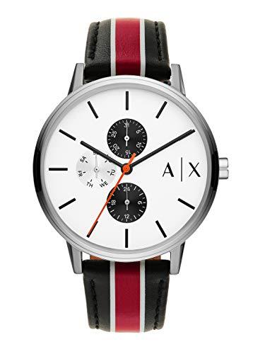 Armani Exchange AX2724 Reloj cronógrafo de cuarzo con esfera blanca para hombre
