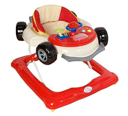 Andador para bebé, diseño fórmula 1 rojo. Andador de actividades o tacatá