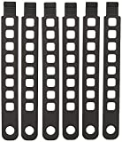 Hollywood Racks Rubber Strap (Pack of 6), 8.5'