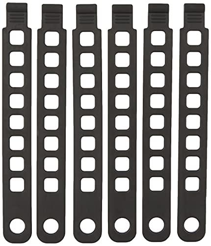 Hollywood Racks Bike Rack Rubber Strap (Pack of 6), 0, 8.5'