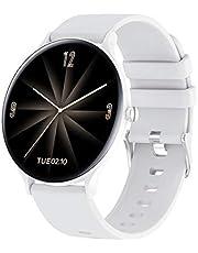 QW13 Smartwatch, 3,28 cm, TFT-scherm, IP67, waterdicht, sportarmband, hart, rate, slaap, heren, fitness