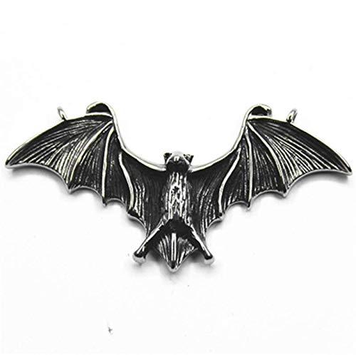 HAOYU Big Bat Colgante de Acero de Titanio no se desvanece M