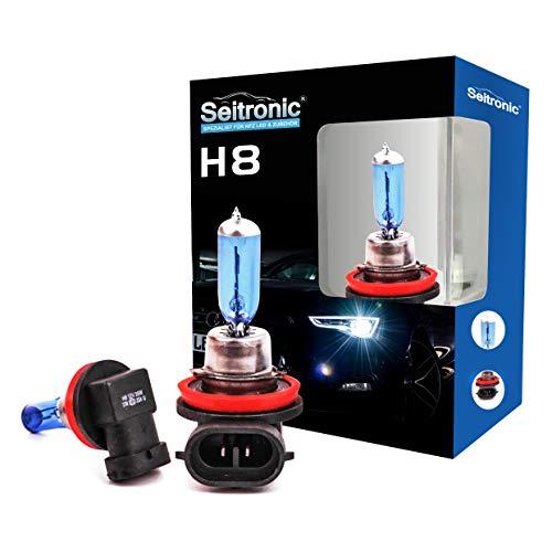 Xenon Style Lampen Halogen-Scheinwerferlampe, Xenon Look Lampen Weiss, Xenon Style Birnen Brenner, Xenon Blue HID Lampen - Halogen Xenon Lampen (H8 35Watt)