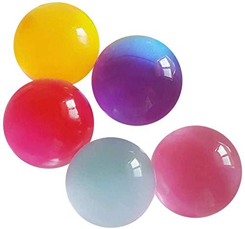 ビッグサイズ 水で膨らむ ジェリーボール ぷよぷよボール 5個セット 色ランダム バブルジェリー 観葉植物 ...