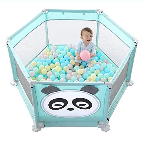 TLMY Vallado for bebés Valla Interior Parque Infantil al Aire Libre Saludable y sin Sabor Cama Barandilla