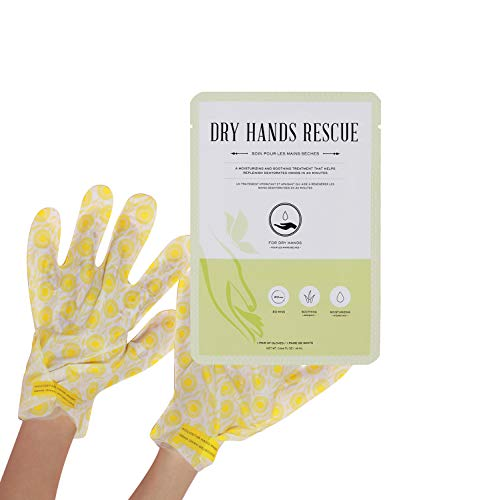 KOCOSTAR Hand Mask for Dry Hands - 10 Pairs of Moisturizing Gloves for Dry Hand Rescue - Fast Acting Home Spa Hand Treatment Leaves No Greasy Residue - Hypoallergenic and Paraben-Free