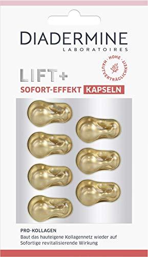 Diadermine Lift+ Sofort-Effekt Kapseln, Anti-Aging für Hals & Gesicht, 1er Pack (1 x 4 ml)