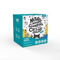 木製猫の砂 長期消臭 猫砂流せる 猫 トイレ 砂 粉塵なし ねこすな 猫砂 (20L/8kg)