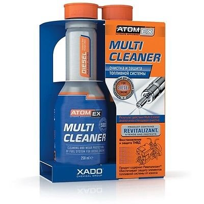 Xado AtomEx Multi Nettoyant Diesel pour traitement de système de carburant 250 ml