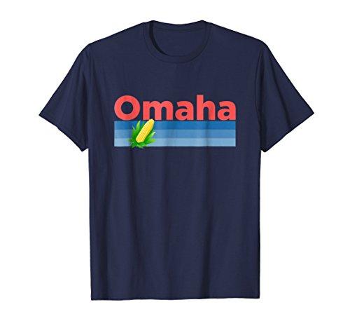 Omaha, Nebraska Retro Corn - Omaha T-Shirt