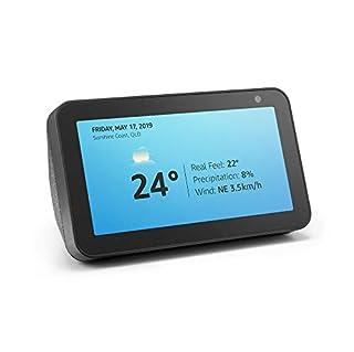 Echo Show 5 – Compact smart display with Alexa - Charcoal Fabric (B07KD7TJD8) | Amazon price tracker / tracking, Amazon price history charts, Amazon price watches, Amazon price drop alerts
