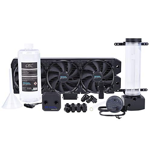 Alphacool 11470 Eissturm Hurricane Copper 45 3x140mm - Komplettset Wasserkühlung Sets und Systeme