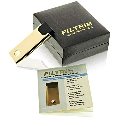 Filtrim Stop Smoking Device – Easy Way to Quit Smoking in Just 8 Weeks – Backed by Scientific Studies – 100% Satisfaction Guaranteed