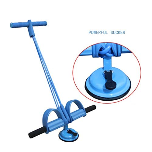Quemagrasas Abdominales Equipo De Gimnasia Hogar Cofre Expansor Equipo De Gimnasia Gimnasio Pedal De Entrenamiento Ejercitador Abdominal (Color : Blue, Size : 52 * 28cm)