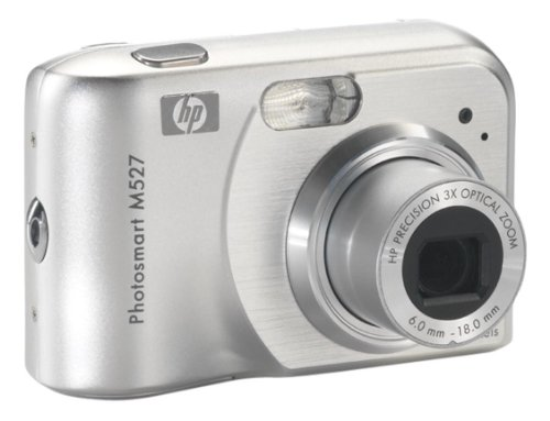 HP PhotoSmart M527 - Cámara Digital Compacta 6.3 MP (2 Pulgadas LCD, 3X Zoom Óptico)