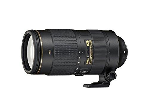 Nikon Obiettivo Nikkor AF-S 80-400 mm f/4.5-5.6G ED VR, Nero...