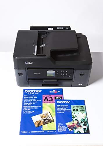 Brother MFC-J6530DW - Impresora multifunción de Tinta (Ethernet, 6,8 cm, 250 Hojas A3, 22/20 ppm Mono/Color), Negro
