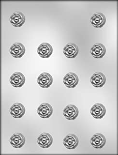 CK Products 7/8-Inch Rose Chocolate Mold