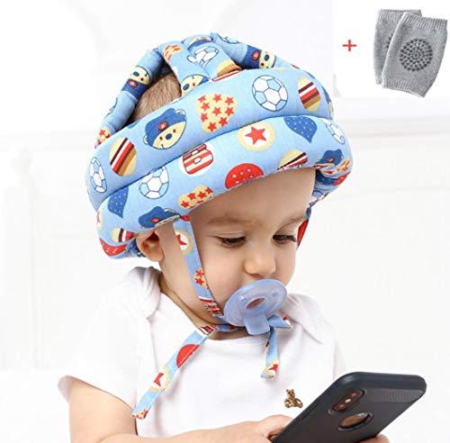 Bambino del bambino Cappuccio di protezione, regolabile Stampato Capo Guardia Caschetto di protezione anticaduta Infant anticollisione Head Protection