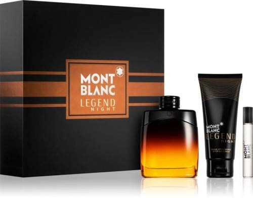 Montblanc MB Set Legend Night 100 ml Edp100Ml After-Shave BalmEdp 7.5