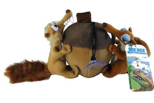 alles-meine.de GmbH Ice Age Scrat und Scratte mit Nuß und mit Sauger 20cm Puppe Plüschtier Plüsch