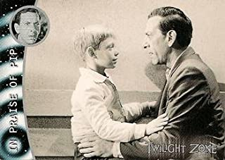 Bill Mumy Jack Klugman trading card Twilight Zone 2000 Rittenhouse #106 In Praise of Pip