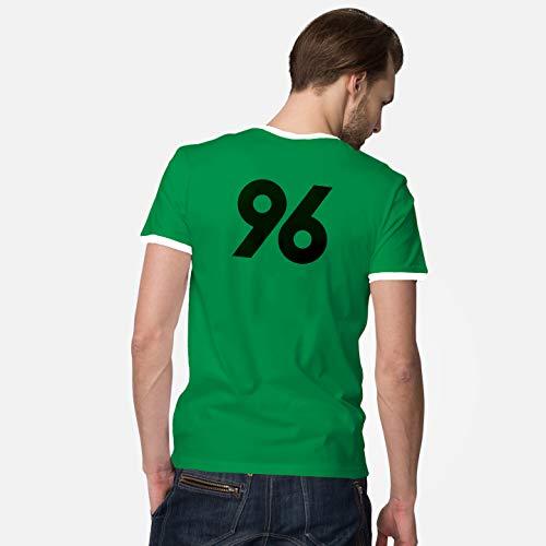 World of Football Ringer T-Shirt Back 96 grün - S